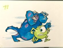 Monsters Inc. Storyboard/Pixar