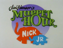Muppet Show on Nick Jr. open
